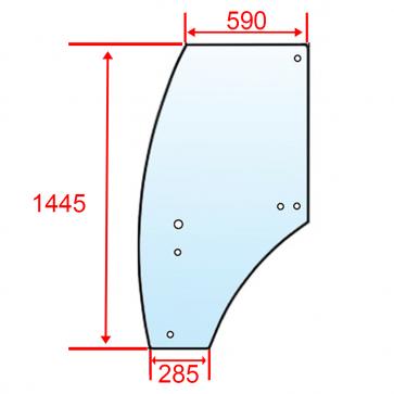 Usa stanga John Deere R198624 6100 test 2